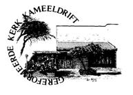 Gereformeerde Kerk Kameeldrift